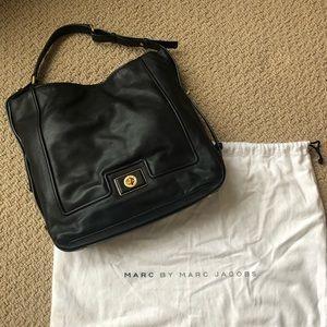 LIKE NEW Marc Jacobs Black Leather Hobo